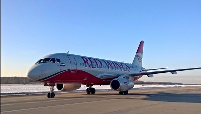 More flights to Moscow from Kazan international airport by Red Wings Airlines